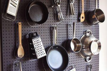 Kitchen Pegboard