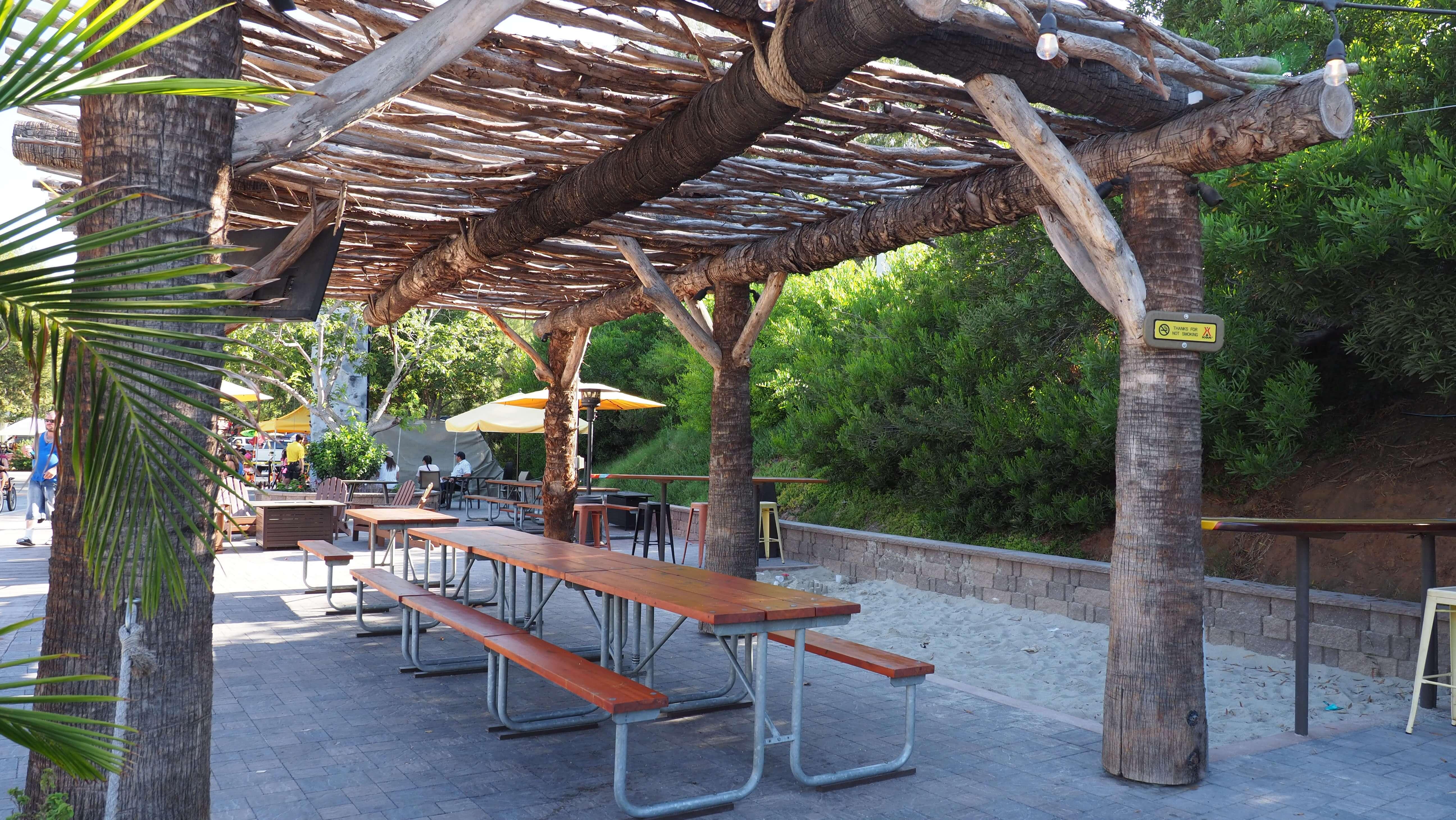 Sand Castle Cafe sitting area